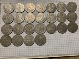 Лот рублей 25 шт, фото №2