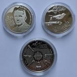 Лот пам'ятних монет 2021р.,3шт, фото №2