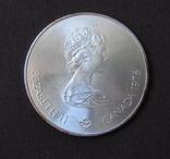 1976 Канада Серебро, 5 долларов Спорт, Олимпиада в Монреале s08, фото №3