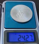 1974 Канада Серебро, 5 долларов Спорт, Олимпиада в Монреале s09, фото №4