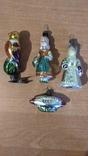 Елочные игрушки . СССР .4 шт., фото №2