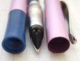 """Перьевая ручка """"Dolphin-278G"""". Пишет довольно мягко и очень насыщенно., фото №8"""