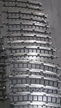 Рельсы от Железной дороги производства Московского завода Механической заводной игрушки, фото №4