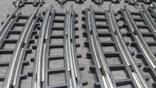 Рельсы от Железной дороги производства Московского завода Механической заводной игрушки, фото №9