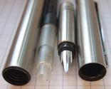 Новая перьевая ручка Parker Vector Flighter, made in USA. Перо F. Оригинал., фото №8