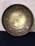 Блюдце для подношений, серебро 84. 1857 г, фото №2