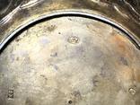 Блюдце для подношений, серебро 84. 1857 г, фото №11