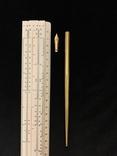 Ручка с золотым пером, фото №3