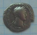 Варварское подражание денарию Траяна., фото №2