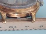 Часы позолоченные с рисунком, фото №6
