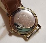 "Швейцарские часы ""TR Quik"" 17 jewels в жёлтом корпусе Swiss made 1980 года., фото №6"