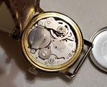 "Швейцарские часы ""TR Quik"" 17 jewels в жёлтом корпусе Swiss made 1980 года., фото №7"