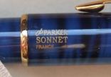Новая ручка - роллер Parker Sonnet с футляром и паспортом., фото №7