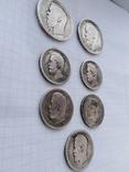 Монеты Николая 2 (серебро) 7 шт, фото №11