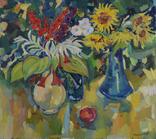 """Натюрморт. """"Цветы в вазе"""" Петр Добрев, фото №3"""