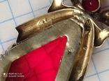 Подвеска серебро в позолоте, фото №6