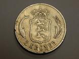 2 кроны, 1875 г Дания, фото №2