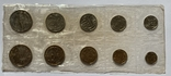 Годовой набор монет СССР 1968 года ЛМД в запайке, фото №2
