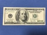100 долларов США со звездой., фото №2