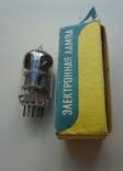 Лампа 6Н23ПЕВ в коробке, фото №2