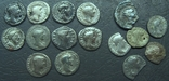 Монеты Древнего Рима (денарии) 10 штук, плюс бонус., фото №2