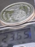 1 доллар, Канада, 1973 г., 100 лет конной полиции Канады, серебро, фото №4