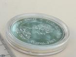1 доллар, Канада, 1977 г., 25 лет вступлению на престол Елизаветы II, серебро, фото №3
