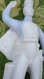 Гусар фарфор статуэтка Коростень Трегубова В.М, фото №3