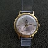 Позолоченные часы Полет де Люкс 29 камней Автоподзавод ау20 СССР (на ходу), фото №2