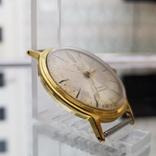Позолоченные часы Полет де Люкс 29 камней Автоподзавод ау20 СССР (на ходу), фото №3