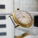 Позолоченные часы Полет де Люкс 29 камней Автоподзавод ау20 СССР (на ходу), фото №4