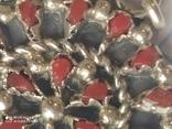 Колье и серьги серебро, фото №5