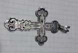 Крестик большой в эмалях., фото №3