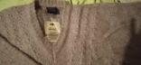 Винтажный мохеровый свитер сV-образным вырезом. Индия. Гретвей. 46р, фото №5