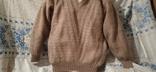 Винтажный мохеровый свитер сV-образным вырезом. Индия. Гретвей. 46р, фото №6