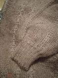 Винтажный мохеровый свитер сV-образным вырезом. Индия. Гретвей. 46р, фото №9