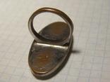 Кольцо с перламутром, фото №6