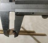 Прутки латунь диаметр 8 мм 3 шт, фото №5