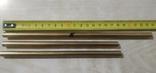 Прутки латунь диаметр 8 мм 3 шт, фото №2