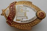 Знак Почетный мастер Министерство хлебопродуктов СССР, фото №4