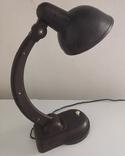 Настольная лампа НКВД, карболит, фото №4