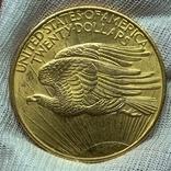 20 долларов 1908, фото №4