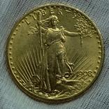 20 долларов 1908, фото №5