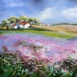 Картина Пейзаж масло живопись, фото №2