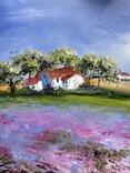 Картина Пейзаж масло живопись, фото №3
