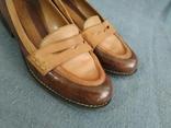 Туфли CLARKS Англия Кожа 39, фото №4
