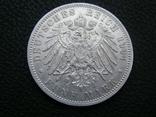 5 марок 1904 D Бавария. Отто., фото №5