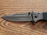 Складной нож Columbia полуавтомат 22 см, фото №3