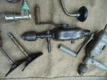 Ручная дрель ссср 5 шт у лоті, фото №5