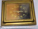 Настенные кварцевые часы янтарь на ходу, фото №7
